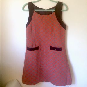 Gracia tweed pocket dress